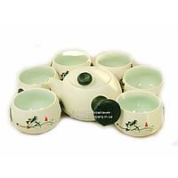 Набор китайской чайной церемонии Фарфор 7 предметов подарочный 9273