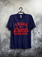 Футболка мужская Adidas Originals (темно-синяя)