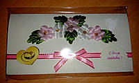 """Открытка """"С Днем свадьбы"""", цветы"""