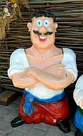 Садово-паркова фігура Козак мультяшний 85 см