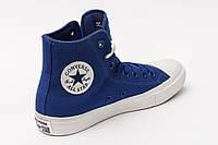 Кеды Converse Chuck Taylor All Star II Синие высокие