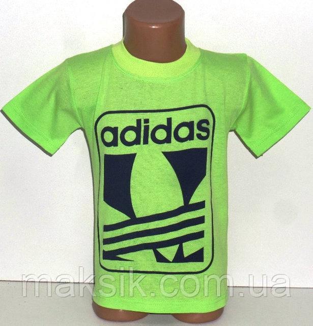 """Футболка  для мальчика """"Adidas"""" р.116-122см"""