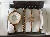 Женские часы + 3 браслета Anne Klein (Анна Кляйн, Анна Клейн) Хит 2017