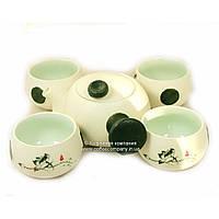 Набор китайской чайной церемонии Фарфор 5 предметов 9273-1