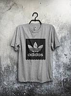 Футболка мужская Adidas (серая)