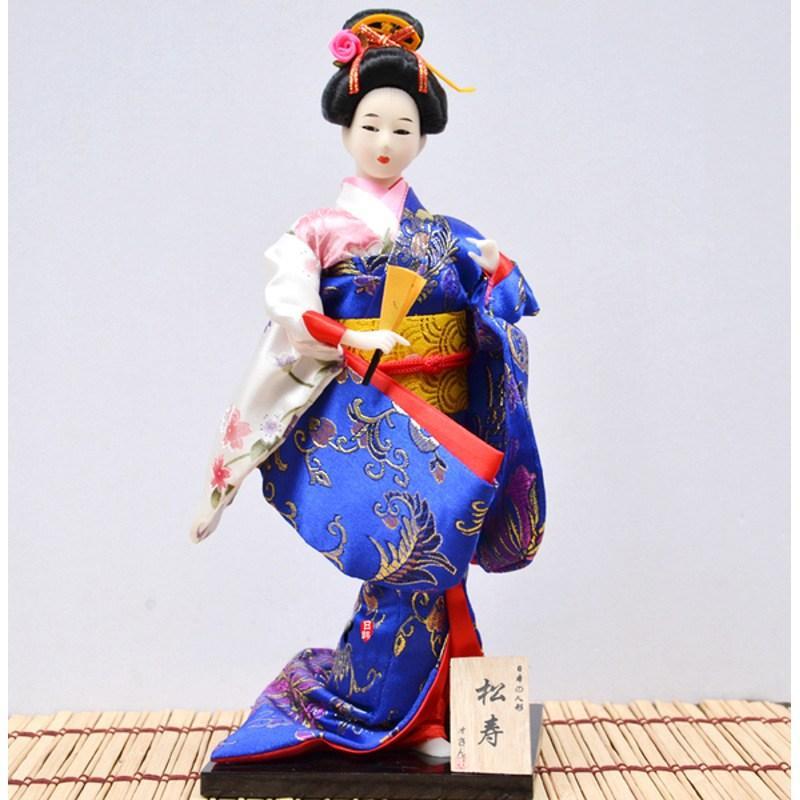 Японська лялька «Дівчина з віялом»