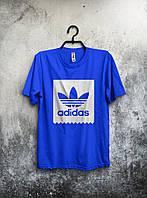 Футболка мужская Adidas (синяя)