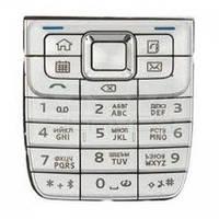 Клавиатура Nokia E51 Silver