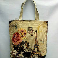 Тканевая  сумка  летняя