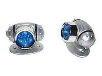 Подсветка-фонарь наружная KL-26 2x7LED Blue овал (пара)