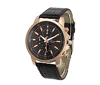 Часы наручные с коричневым ремешком код 260