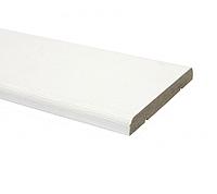 Наличник ПВХ прямой 70 мм Белый