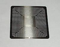 BGA шаблоны ATI 0.6 mm X1800 трафареты для реболла реболинг набор восстановление пайка ремонт прямого нагрева