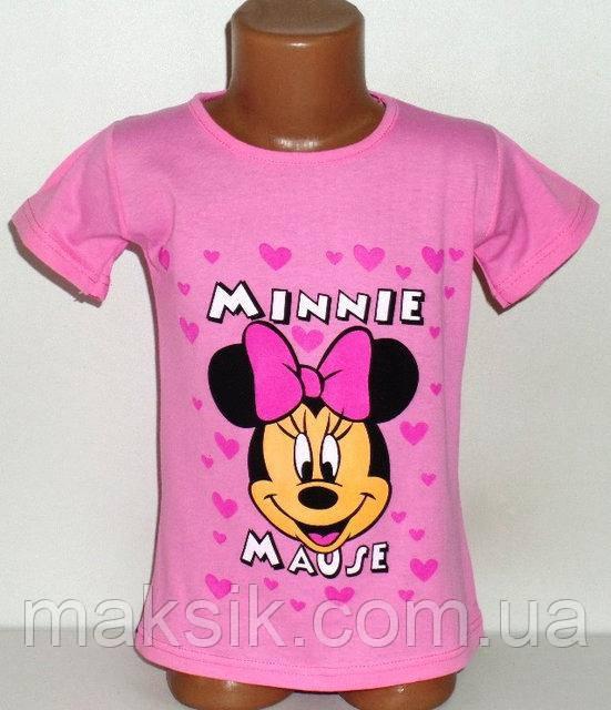 """Футболка для девочки """"Minnie"""" р.110-116см"""