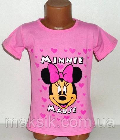 "Футболка для девочки ""Minnie"" р.110-116см, фото 2"