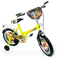 Велосипед детский двухколесный Хот вилс 16 BT-CB-0011 KK
