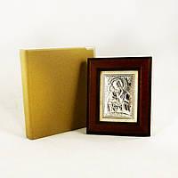 Икона Почаевская в деревянной рамке в шкатулке
