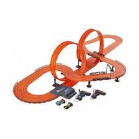 Трек Хот Вилс на радиоуправлении с двумя машинками / Hot Wheels Track Challenge Level