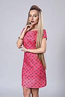 Платье мод. 277-18,размер 40,,46 шанель коралл