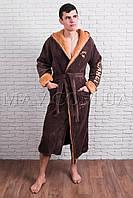 Мужской халат оптом махровый (Сamel)