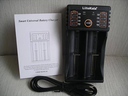 LiitoKala Lii - 202 универсальное зарядное устройство