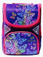 Ранец Рюкзак каркасный школьный ортопедический  Little butterfly JOSEF OTTEN JO 1705