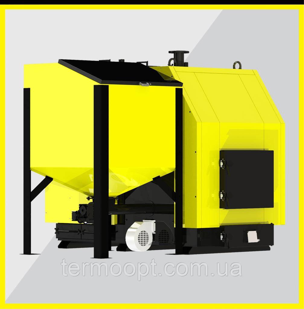 Промышленные котлы Kronas Prom Combi 97 кВт котлы длительного горения с турбиной и автоматик