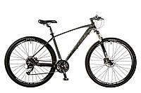 """Велосипед 29"""" Leon TN-70 AM Hydraulic lock out 14G HDD рама-19"""" Al серо-черный (м) 2017"""