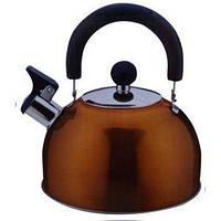 Чайник нержавеющая сталь 2.5л бронза
