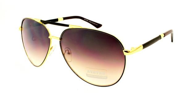 Яркие модные подростковые очки авиаторы
