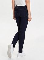 Темносиние утягивающие джинсы с высокой посадкой  Sheego Германия Л, ХЛ . средний, высокий рост