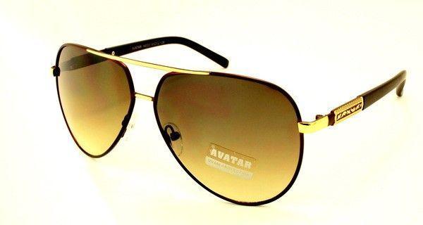 ee93bcc9a23a Классические мужские очки авиаторы бренд Avatar - Оригинальные подарки в  интернет-магазине Панда-Шоп