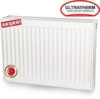 Стальной панельный радиатор Ultratherm 22 тип 600/1400 с боковым подключением (Турция)