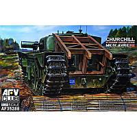 Танк Churchill MK IV Avre с несущей рамой + сертификат на 50 грн в подарок (код 200-373366)