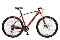 """Велосипед 29"""" Leon TN-70 AM Hydraulic lock out 14G HDD рама-21"""" Al красно-черный (м) 2017"""