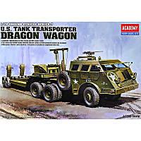 Наземный транспорт 2МВ, серия 7 Танковый транспортер М-25 с трейлером М15 (код 200-395653)