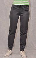 Женские брюки из микро дайвинга на манжете
