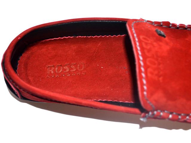 Красная мужская стелька для обуви