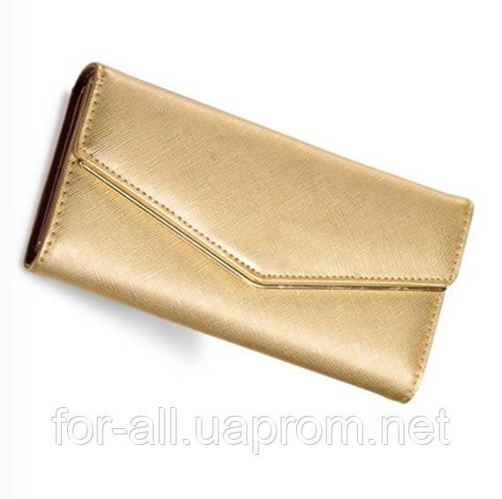 Клатч золотого цвета для женщин, фото 1