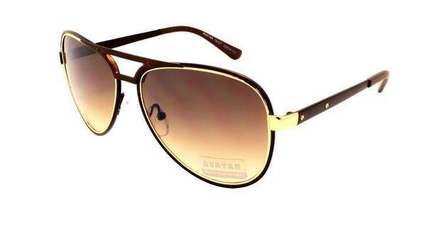 Солнцезащитные очки Aviator стильные Avatar