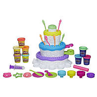 Игровой набор Плей До Праздничный пирог Play-Doh 2-in-1 Sweet Shoppe Cake Mountain Playset