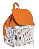 Стильная cумка-рюкзак  Weekend от компании Yes  рыжая, 29*25*17