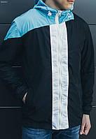 Куртка ветровка мужская весна-лето Staff Color Block Blk Art. MX0010