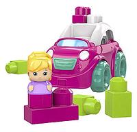Машинка-конструктор Розовый кабриолет Mega Bloks