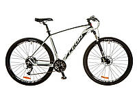 """Велосипед 29"""" Leon TN-70 AM Hydraulic lock out 14G HDD рама-19"""" Al бело-черный (м) 2017"""