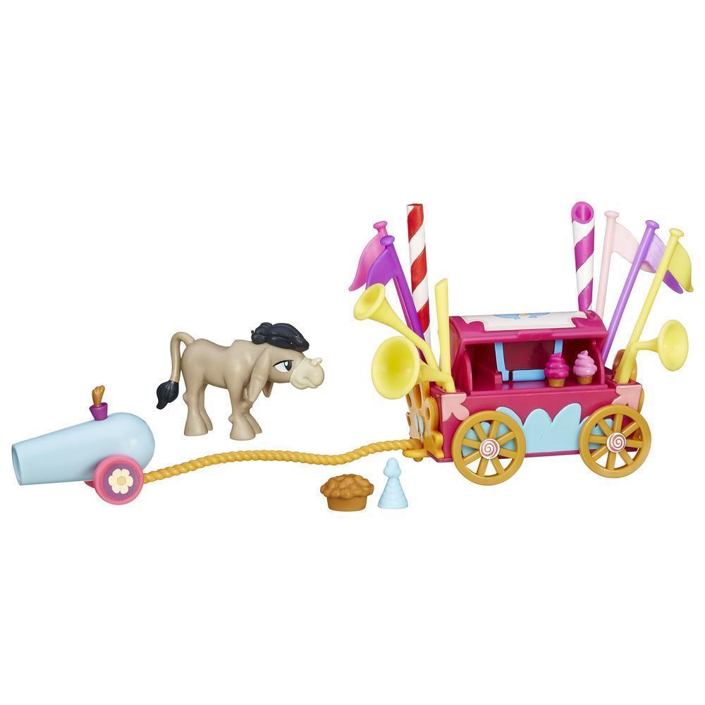 My Little Pony Ігровий набір міні-колекція Візок солодощів ослика Cranky. Welcome Wagon.