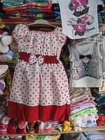 """Платье для девочки """"Лиза"""" р 104-110-116 Турция"""