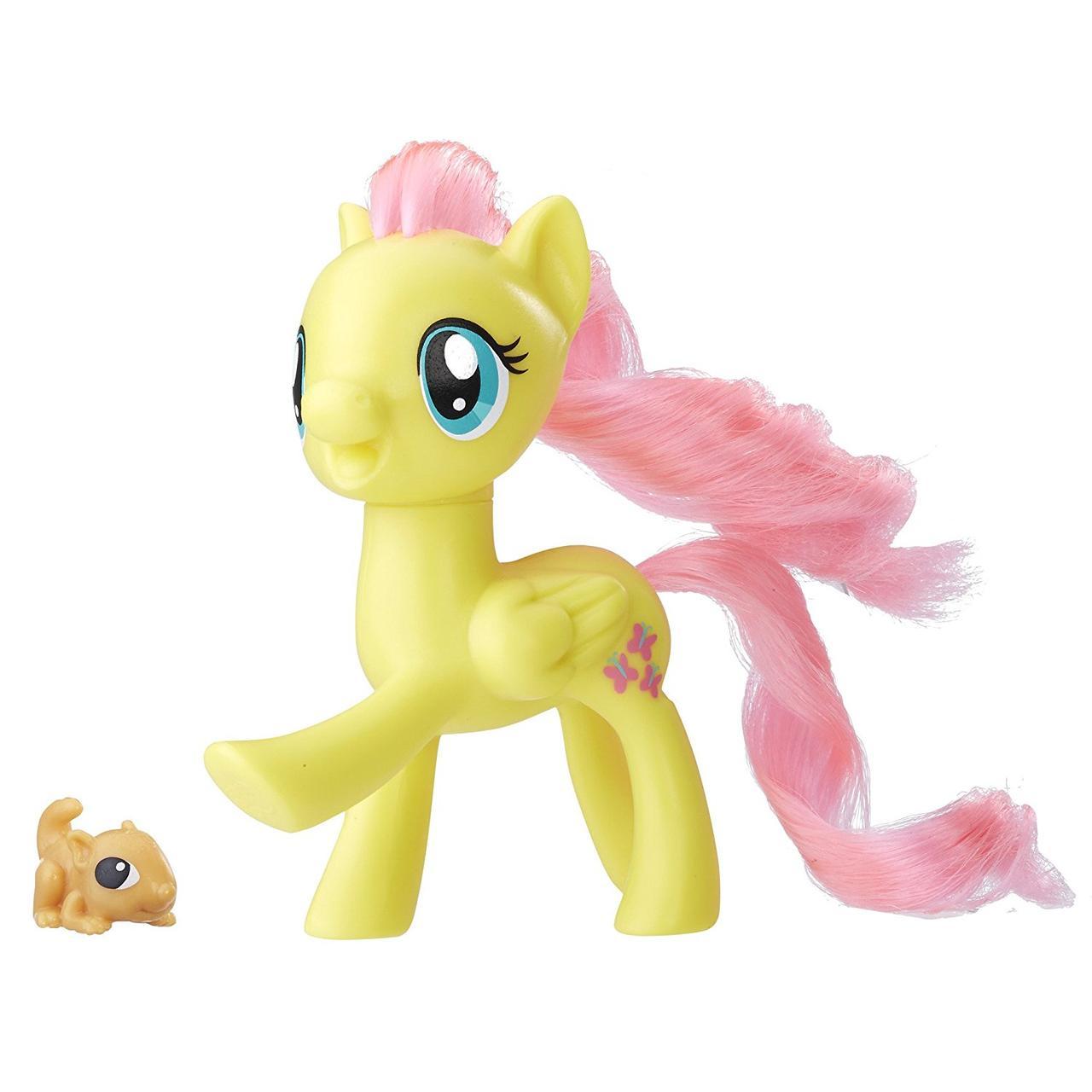 Май литл пони Флаттершай из серии Пони-подружки. Оригинал Hasbro C1141/B8924