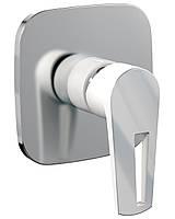 MPRESE VR-15245WZ BRECLAV смеситель скрытого монтажа для душа, хром/белый.