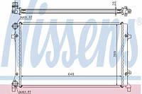 Радиатор охлаждения NISSENS 65277